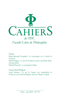 Cahier 78