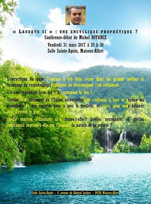 Laudato si : une encyclique prophétique ?