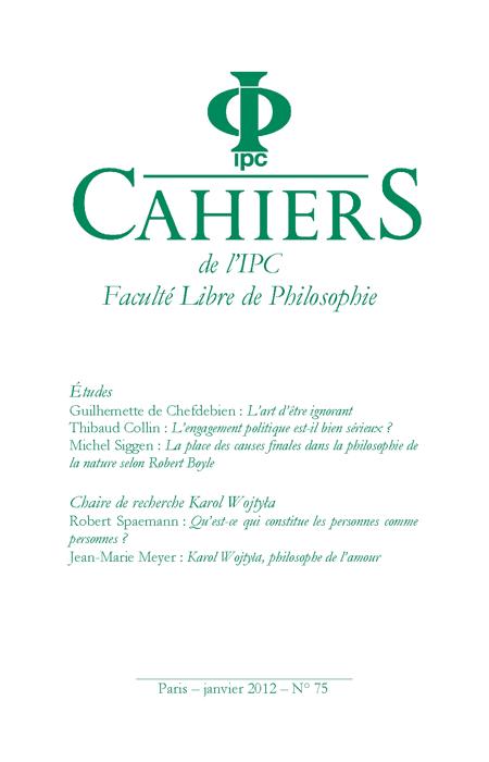 Cahier n°75