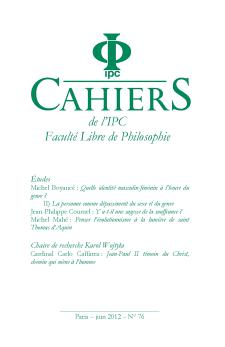 Cahier n°76