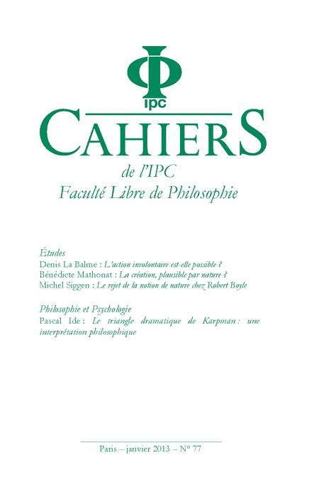 Cahier n°77