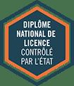 Label Diplôme National de Licence contrôlé par l'Etat