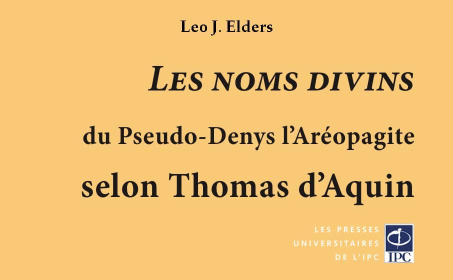 Dernier ouvrage du Père Elders