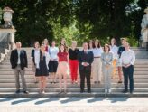 Equipe au Luxembourg avec Isabelle
